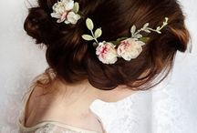 WEDDING HAIR / Hair style ideas for your bridal party!