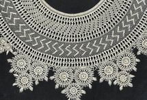 Armenian -Point or needle lace / Armenian Lace or bibila is a fine lace mostly being worked with the help of a  needle.