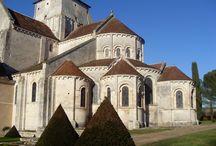 Abbayes en France