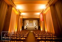 Spring Art Museum Wedding / an elegant & romantic gray, blush pink and pale yellow spring wedding with touches of gold in Washington, DC at the Corcoran Museum / by Bella Notte DC