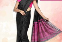 Pure Silk Sarees / To make their choice easy, Vijayalakshmi Silks showcases its large collection of authentic pure silk sarees for the Indian woman perfect for any kind of occasion.  For more visit: http://www.vijayalakshmisilks.com/sarees/pure-silk-sarees-online