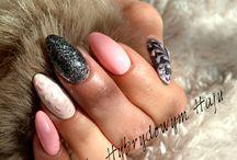 Imprezowe paznokcie - party nails