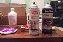 Yupo, alcohol ink, tiles