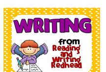Writing / Writing Pins from Reading and Writing Redhead