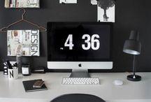 Working Places / Arbeitszimmer, Arbeiten, Inspiration für Arbeitsplätze, Arbeiten und Wohlfühlen,