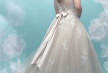 """Plus Size Wedding Gowns / At Charlotte's we want to help every bride find their dream dress!  We have a large selection of gowns, bridal size 18 and up to help each and every bride find """"the one""""!  This is a sampling of our selection of plus size wedding dresses."""