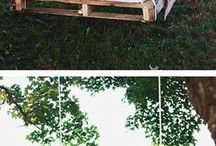 Our outdoor sanctuary / by Ashley Harbin