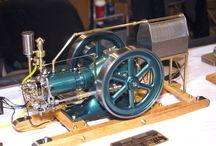 Spalovaci motory mini
