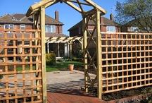 Fence/ trellis / handrail