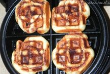 Waffle maker recpes