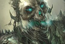 Undeads,Zombies, Grim Reaper