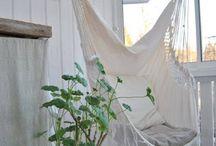 hammocks// swings