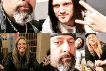 hosszúhajú szakáll nélküli férfiak és férfi rockzenészek
