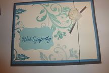 Stampin Up Sympathy cards