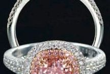 Pretty in Pink Jewelry / Pink, gold (rose gold) and pink gemstones from Keller & George Jewelers in Charlottesville, VA!