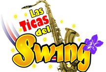 Las Ticas del Swing / Orquesta Femenina de Costa Rica, muy popular en América Central