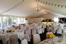 Hunton Park - Summer Marquee / One marquee hundreds of ways to make your wedding unique to you!