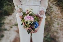 Wedding: flowers, tables, decoration