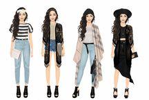 Moda feminina Stardoll