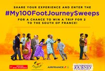 #My100FootJourneySweeps / A hundred-foot journey begins the moment you step outside of your comfort zone and experience the unfamiliar.  / by The Hundred-Foot Journey