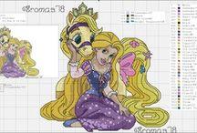 Rapunzel Punto Croce