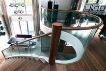 Glass Staircases / Glass staircases designed and built by The Liverpool Joinery Company