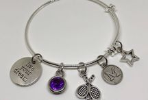 Tennis Jewelry / Gorgeous Custom Tennis Jewelry to energize your passions, inspire your goals and empower your life.  http://LifestyleandSportsJewelry.com/