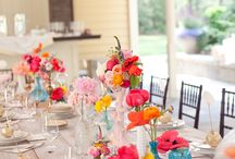 **Entertaining and Place Settings / I have a thing for gorgeous table settings and party setups. I hope you enjoy them, too! Please, add only 5 pins a day. / by Steph 🔥 Fearless Fresh