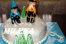 Cakes / Cakes, characters, figures, flowers, ginger, etc ...