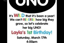 Twins 1st Birthday Party= UNO / by Katie Northern