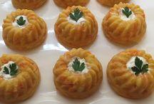 patatesli havuclu kek