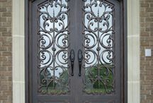 Custom Iron Doors from Tuscan / Look here for our current handcrafted iron doors - any door can be customized for your home!