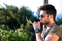 """GREEN OUTFIT / -T-shirts """"JACK&JONES"""" -Glasses """"RAYBAN"""" -Watch """"Police"""" -Ring """"BROSWAY"""" -Bracelet """"IL CENTIMETRO"""" -Necklace """"GUESS"""""""