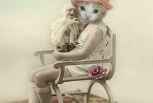 textile cat inspiration