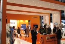 MP3 - Milan MCE2012 booth / Lo stand progettato e realizzato da Sintesi per MP3 per la fiera Mostra Convegno Expocomfort 2012