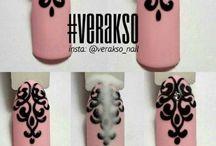 traibal nail design