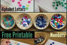 preschool printables / by Julie Swihart