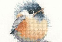 vogel borduren