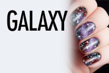 Galaxy Nail Art & Nail Designs