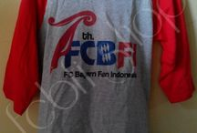 FCBFI Shop / Beberapa contoh barang ekslusif dari FCBFI Shop
