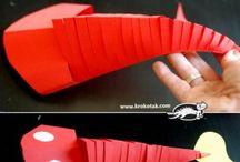 ryba z papiru