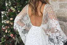Boho kjoler / Boho wedding dress