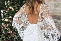 Boho kjoler / Boho wedding dress