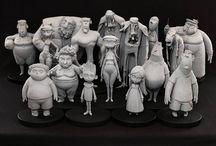 Character design sculpts