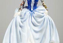 Wanna White & Blue / Bone China Porcellaine