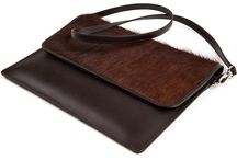 "3.7.6. Slim Envelope 13"" MSE65 (314786) / Brown cow's hide and brown natural leather, brown fabric inside. Size (mm) 355 x 280 x 5. Fits MacBook Air/Pro 13"" or iPad Pro  http://376style.com/portfolio/envelopes/mse65_314786.html"