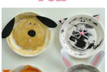 Pets craft for toddlers