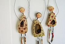 Art Dolls and Sculpture / Artsy , folk art and even the outsider art dolls and sculpted figures or objects.