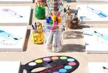 Birthday Party Activities / Super cute party supplies