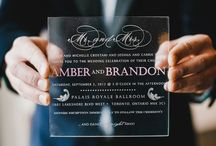 Invitations and Printed Items